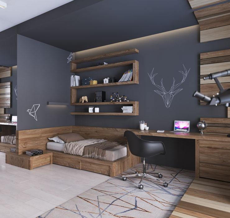 Декор комнаты подростка 3