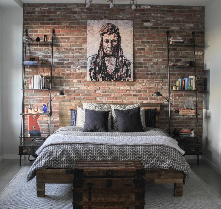 Комната для подростка в стиле лоф