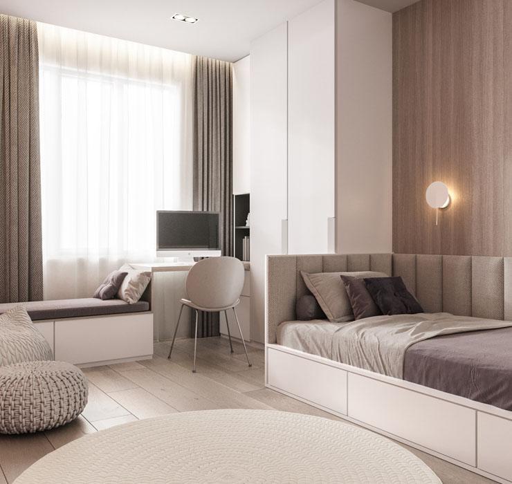Комната подростка в современном стиле 1