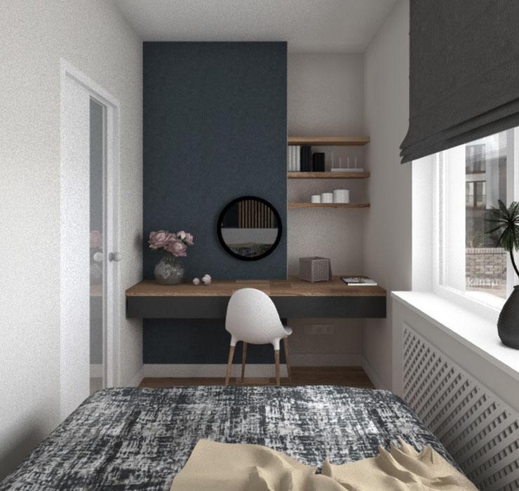 Мебель для маленькой комнаты подростка 2