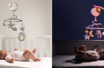 Мобиль в кроватку для новорожденных: с какого возраста использовать и как выбрать