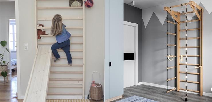 Шведская стенка: для чего нужна и как выбрать
