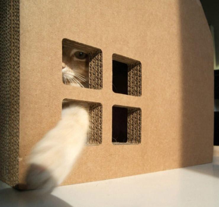 Домик для кота 2