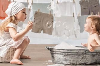 Как правильно стирать вещи младенца