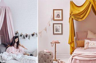 Как закрепить и повесить балдахин на детскую кроватку